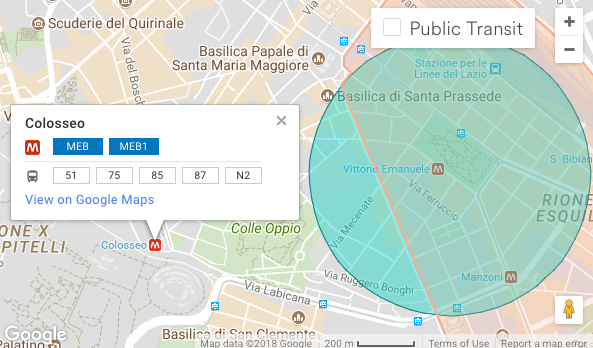 Rome Colosseum Loft (Airbnb): Neighbourhood