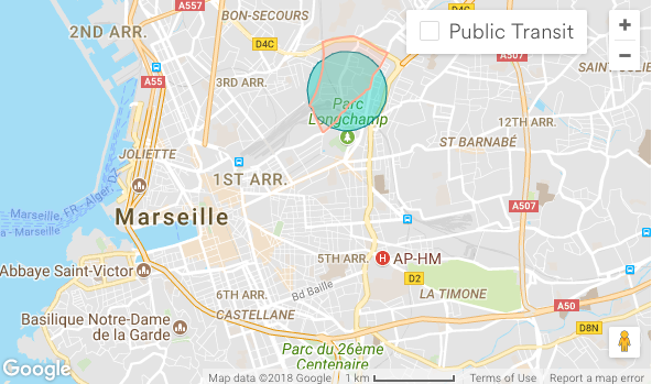 Marseille Penthouse Apartment (Airbnb): Neighbourhood