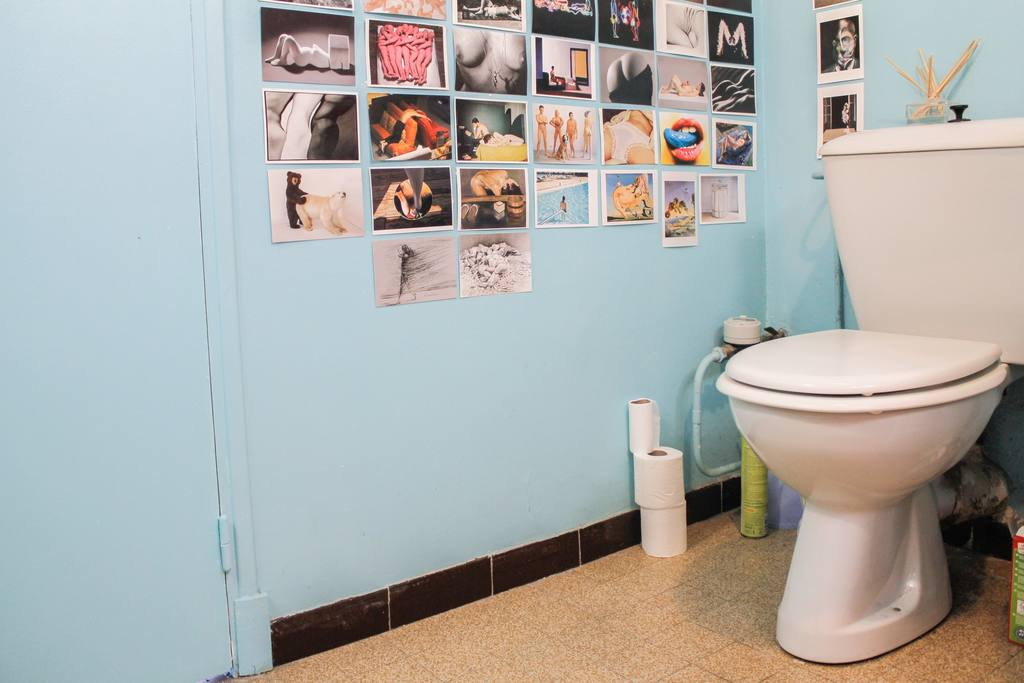 Marseille Penthouse Apartment (Airbnb): Bathroom
