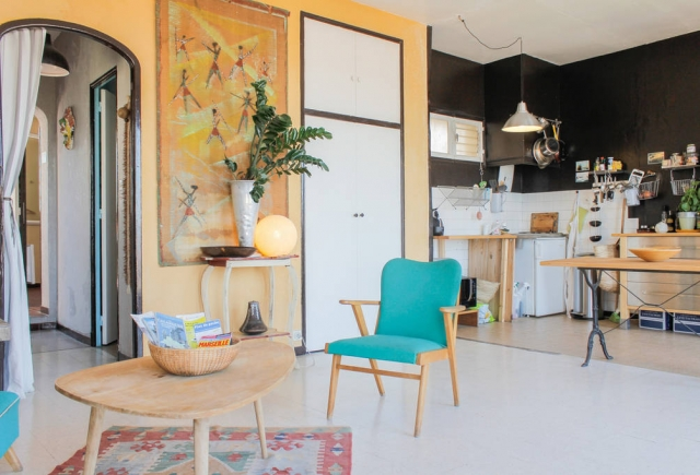 Marseille Penthouse Apartment (Airbnb): General Area