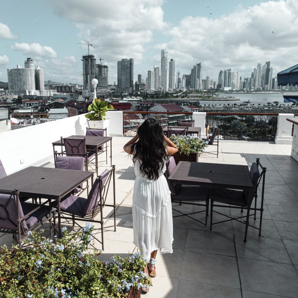 Las Clementinas - Rooftop View of Panama City Skyline