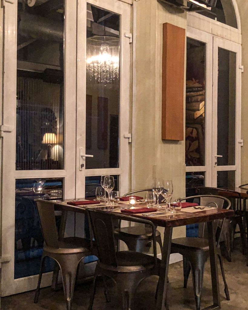 Must-Try Restaurants in Panama City: Caliope Restaurant, Casco Viejo (Interior Window Seating)