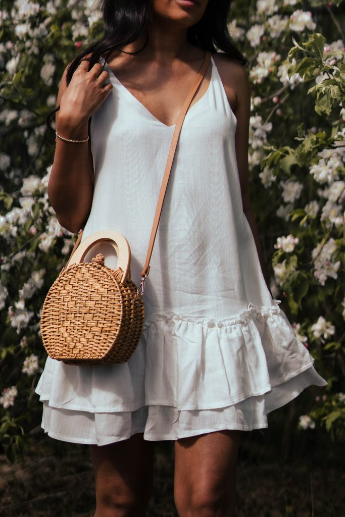 Summer Dresses for 2020:  Augustine Dress (White) from Fortunate One Store